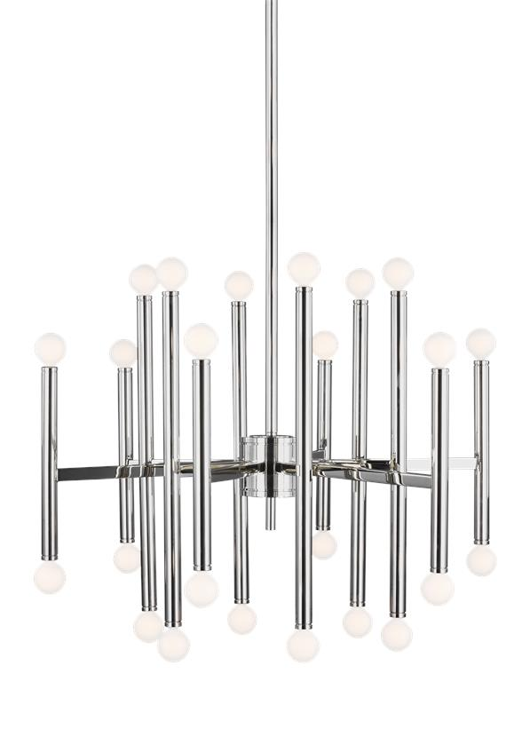 Beckham Modern 24 - Light Chandelier